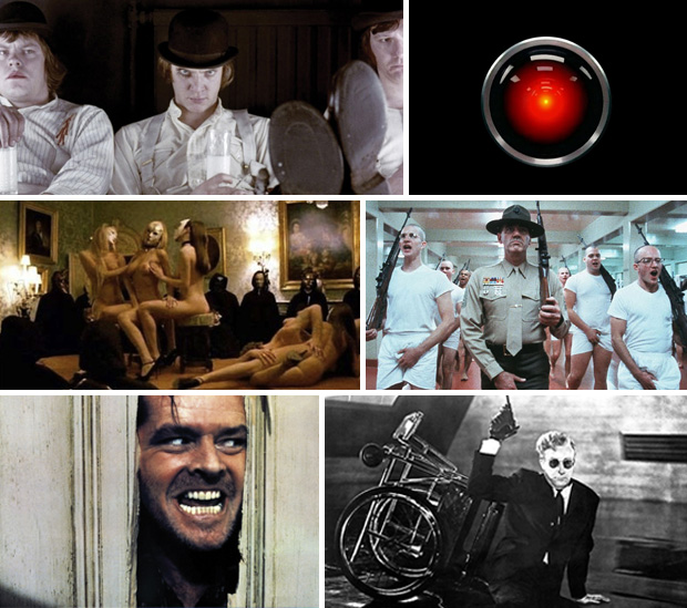 Stanley Kubrick Collage