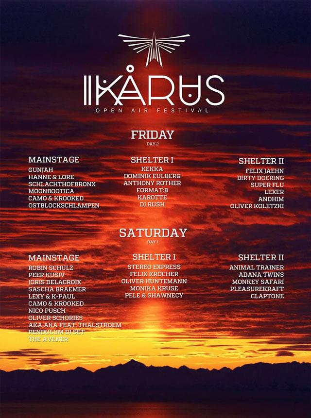 Ikarus_Line-up